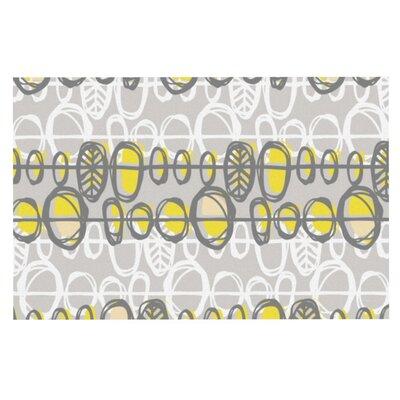 Gill Eggleston Benin Doormat Color: Yellow/Gray
