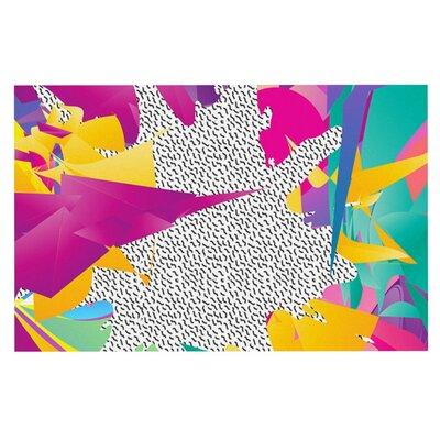 Danny Ivan 80s Abstract Doormat