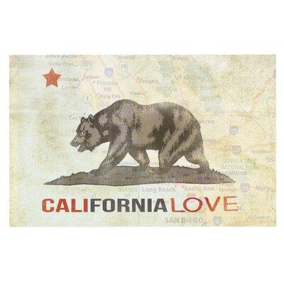iRuz33 Cali Love Doormat