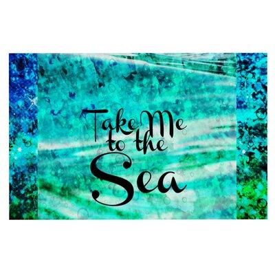 Ebi Emporium Take Me to the Sea Glitter Doormat