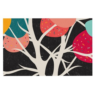 Danny Ivan Lovely Tree Branches Doormat