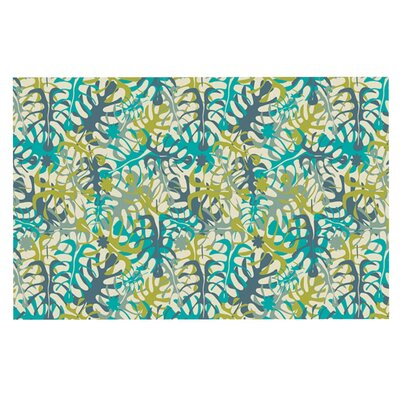 Julia Grifol Tropical Leaves Doormat