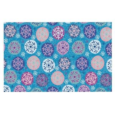 Julia Grifol Floral Winter Doormat