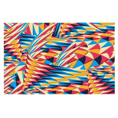 Danny Ivan Painting Life Abstract Doormat