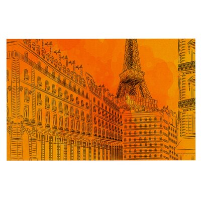 Fotios Pavlopoulos Parisian Sunsets City Doormat