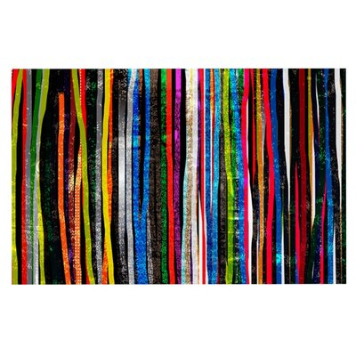 Frederic Levy-Hadida Fancy Stripes Doormat Color: Dark