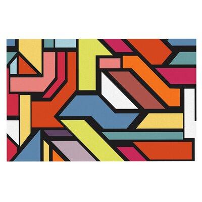 Danny Ivan Abstract Shapes Doormat