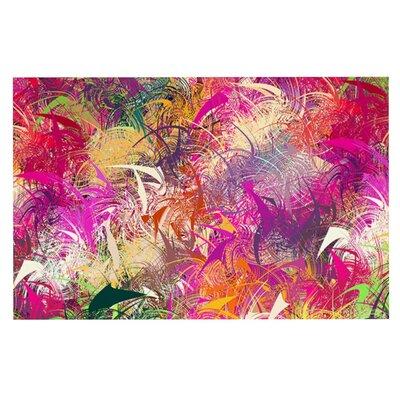 Danny Ivan Splash Abstract Doormat