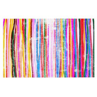 Frederic Levy-Hadida Fancy Stripes Doormat Color: Pastel