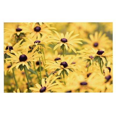 Debbra Obertanec Pantone Flower Daisy Doormat