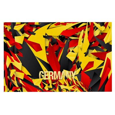 Danny Ivan Germany World Cup Doormat