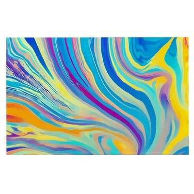 Ingrid Beddoes Swirl Doormat