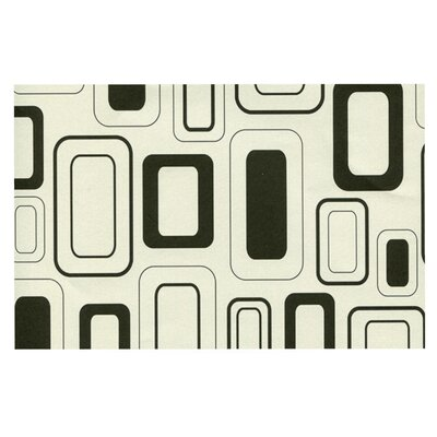 Heidi Jennings Cubes For Days Neutral Doormat