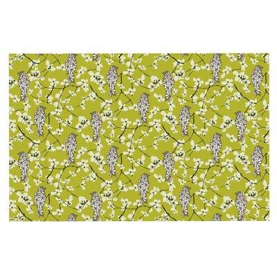Julie Hamilton Blossom Bird Doormat