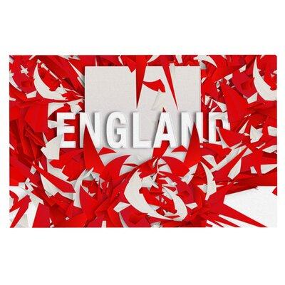 Danny Ivan England World Cup Doormat