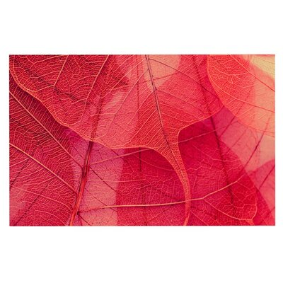 Ingrid Beddoes Delicate Leaves Doormat