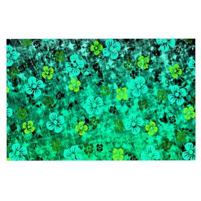 Ebi Emporium Luck of the Irish Floral Doormat