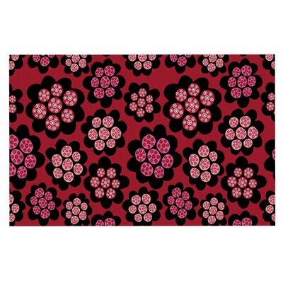 Jane Smith Garden Pods Repeat Floral Doormat