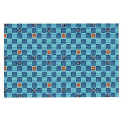 Jane Smith Vintage Checkerboard Doormat