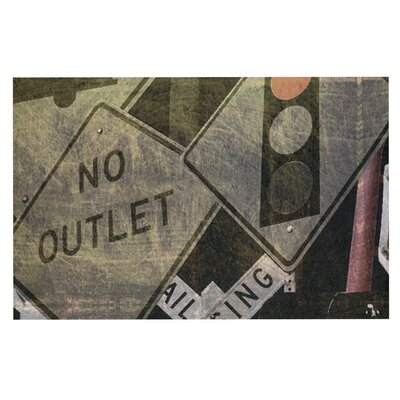 Heidi Jennings City Outing Urban Signs Doormat