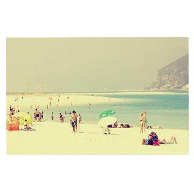 Ingrid Beddoes Lazy Days Summer Beach Doormat