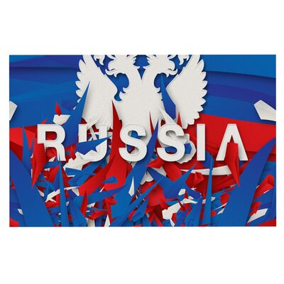 Danny Ivan Russia World Cup Doormat