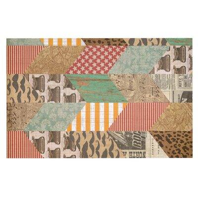 Heidi Jennings Hodge Podge Vintage Texture Doormat