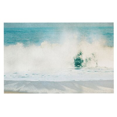 Ingrid Beddoes Ocean Blues Wave Doormat