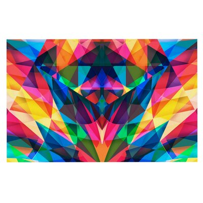 Danny Ivan Day We Met Geometric Doormat
