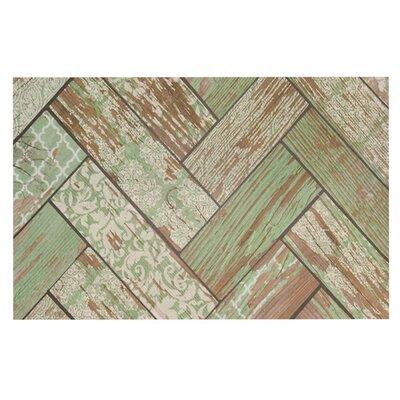 Heidi Jennings Patina Wood Doormat