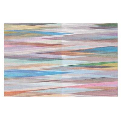 Mareike Boehmer Nordic Combination II Rainbow Abstract Doormat