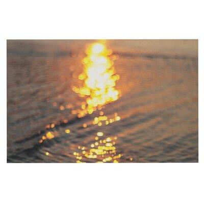 Libertad Leal Still Waters Sunset Doormat