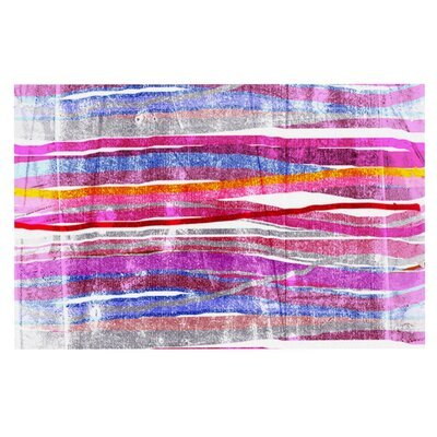 Frederic Levy-Hadida Fancy Stripes Doormat Color: Pink