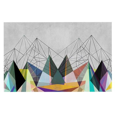 Mareike Boehmer Colorflash 3X Rainbow Doormat