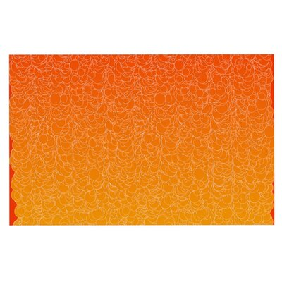 Frederic Levy-Hadida Bubbling Doormat Color: Red