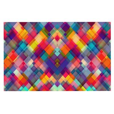 Danny Ivan Squares Everywhere Shapes Doormat
