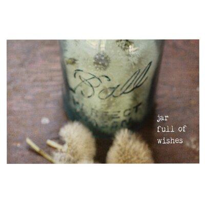 Debbra Obertanec Jar of Wishes Fuzzy Doormat