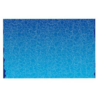 Frederic Levy-Hadida Bubbling Doormat Color: Blue