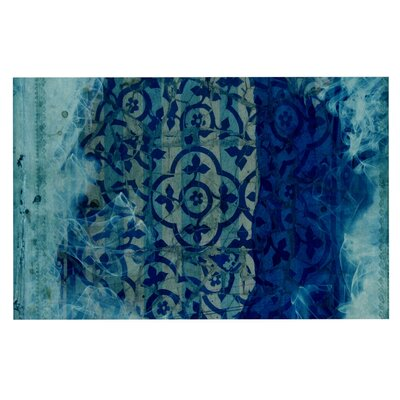 Frederic Levy-Hadida Mosaic in Cyan Doormat