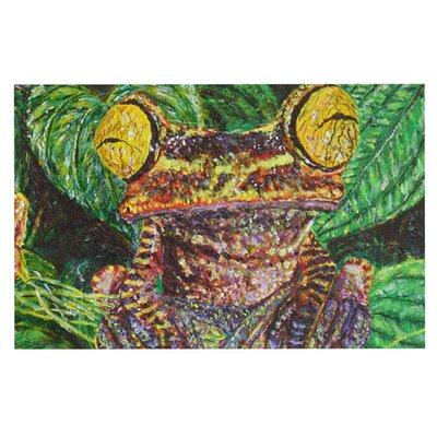 David Joyner Frogs Doormat