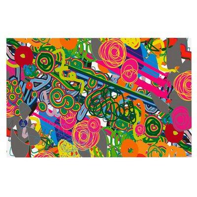 Frederic Levy-Hadida Psychedelic Garden Doormat