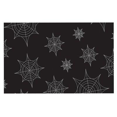 Mini Webs Doormat Color: Black