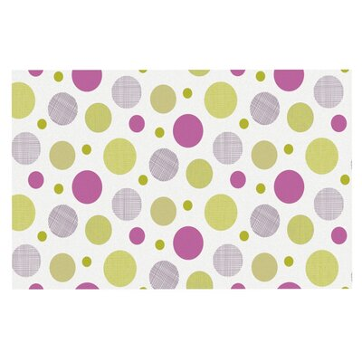 Julie Hamilton Rhapsody Dot Doormat