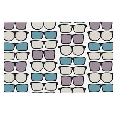 Michelle Drew Spectacles Geek Chic Doormat