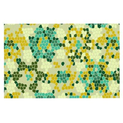 Laura Nicholson Flower Garden Mosaic Doormat