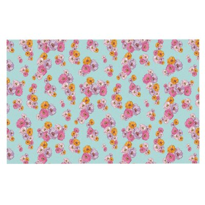 Laura Escalante Paper Flower Doormat