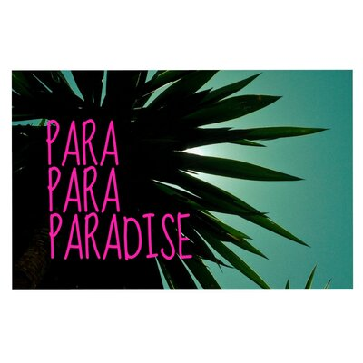 Nika Martinez Exotic Paradise Doormat