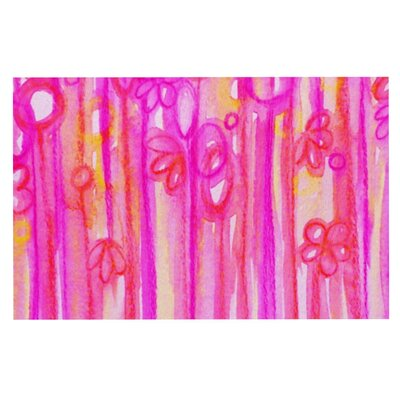 Ebi Emporium Spring Sensations Magenta Doormat