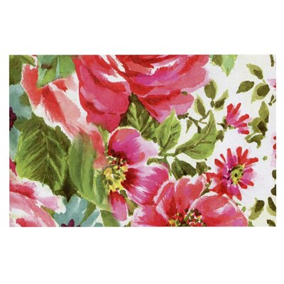 Heidi Jennings Walk Through the Garden Flowers Doormat