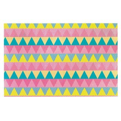 Louise Machado Triangles Doormat